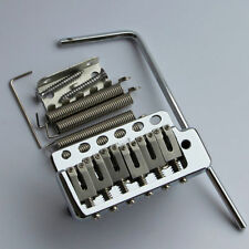 WILKINSON WVP6 TREMOLO BRIDGE With Stainless Steel Saddles in Chrome New