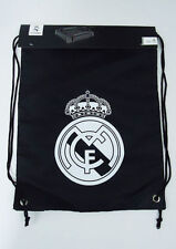 Official Real Madrid Soccer Gym Sack Cinch Bag Football Drawstring Backpack