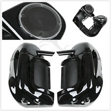 Lower Vented Leg Fairing w/ 6.5'' Speakers w/ Grills For Harley Road Glide 83-13