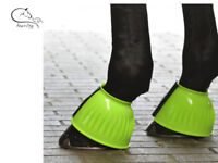 Busse Rubber Over Reach Bell Boots Choice of Colour & Size FREE DELIVERY