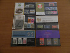 1970 YEAR SET of 6 PRESENTATION PACKS  IN MINT CONDITION