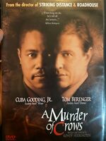 A Murder of Crows [2001]  DVD Cuba Gooding Jr Tom Berenger Rare