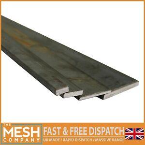 Bargain Mild Steel Flat Bar 3mm To 20mm Thickness Solid Metal Flat Stock