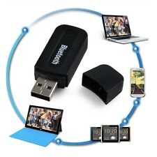 1 Pcs 3.5mm Car Truck USB Bluetooth Adaptor Audio Dongle Music Wireless Receiver