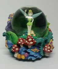 "Rare Disney Tinkerbell Snow Globe Peter Pan ""You Can Fly"" Music Lights"