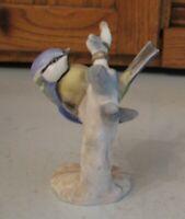 Vintage GOEBEL Blaumeise BLUE TITMOUSE Figurine W Germany Bauch Porcelain Berlin