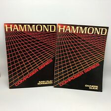Hammond Organ Composer Series Owner's Guide & Easy Play Songbook Instruction