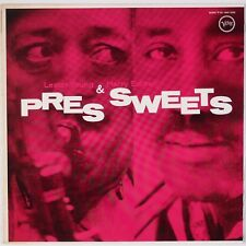 LESTER YOUNG & HARRY EDISON: Pres & Sweets JAPAN Verve Jazz LP UMV 2528 NM