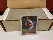 1989 O-Pee-Chee OPC Baseball Complete Set 1-396