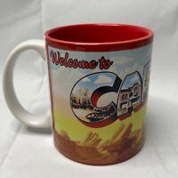 Disneyland California Adventure Cars Land ABC L Mug NEW