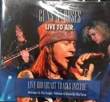 GUNS N' ROSES LIVE TO AIR CD MADE IN BRAZIL 7 TRACKS Ships From NJ Last One