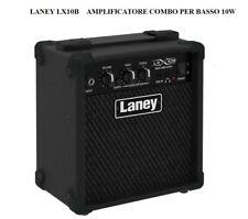 """LANEY LX10B Amplificatore combo per BASSO ELETTRICO Potenza 10w RMS 1x5"""""""