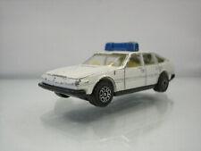 Diecast Corgi Rover 3500 Police White Good Condition