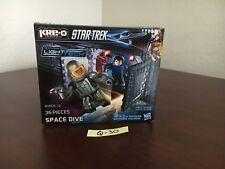 NEW & SEALED!! STAR TREK Kre-O SPACE DIVE LightTech A3138 36 Pieces Hasbro Q-30