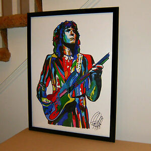Chris Squire Yes Bass Guitar Vocals Rock Music Poster Print Wall Art 18x24
