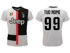 Maglia Juventus Personalizzata 2019 2020 ufficiale tuo nome e tuo numero Juve