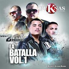Los 2 Primos y Bukanas de Culiacan La Batalla Vol. 1 CD New