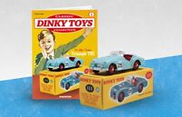 Dinky Toy Triumph TR2 Sports  model 111 new & boxed with mag issue #1 DeAgostini