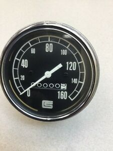 1966 CAROL SHELBY MUSTANG DRAG RACE 160 MPH SPEEDOMETER TROG SCTA DONT MISS OUT