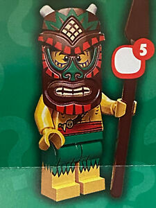 Lego 71002 Minifigures Series 11 Island Warrior New
