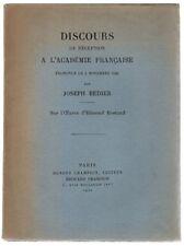 Discours de réception à l'Académie française prononcé le 3 novembre 1921, par...
