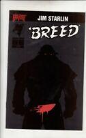 Breed #1 Comic Book Malibu Very Fine / Near Mint