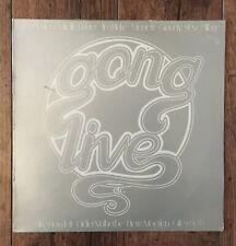 Gong – Live Etc. LP. UK press Virgin – VGD3501