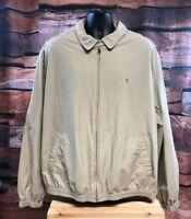 Mens Khaki Tan Lauren Ralph Lauren, Harrington/Bomber Style Jacket size XXL