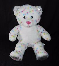 BUILD A BEAR CONFETTI TEDDY CUPCAKE FOOT SPRINKLES STUFFED ANIMAL PLUSH TOY BABW