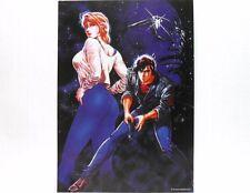 City Hunter POSTER cm.34 x 48,5 Ryo Saeba e Kaori Makimura-Tsukasa Hojo/Shueisha