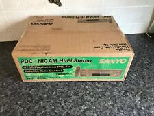 sanyo vhr-h200e nicam video unused