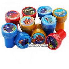Disney Finding Dory Licensed 10 Self Inking Stampers Goodie Bags Fillers
