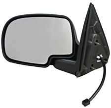 Fits 2002 Escalade, Avalanche Left Driver Power Mirror Textured Folding w/ Heat