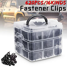 620PCS Car Trim Body Clips Kit Rivet Retainer Door Panel Bumper Plastic Fastener