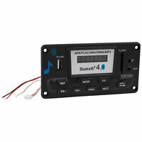 12 VDC Bluetooth 4.0 FM Radio MP3 WAV FLAC Audio Preamp Board with Function Cabl