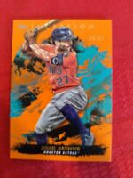 2021 Topps Inception #45 Jose Altuve Orange  Parallel #'d /50 Houston Astros