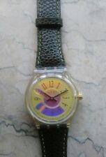 "orologio swatch MUSICALL modello ""DOUBLE RHYTHM"" SLK103 anno 1994 NUOVO DUMMY"