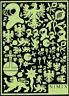 """""""MOTIFS HERALDIQUES"""", Planche n° 02 - Photo-découpe NIMIX - Réf. FT52"""