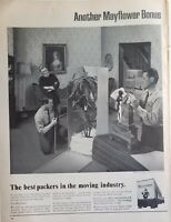 Lot of 3 Vintage Mayflower Moving Print Ads Best Packers in the Moving Industry