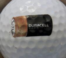 (1) Duracell Battery Batteries Logo Golf Ball