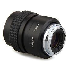 25mm Objektiv C-Mount Schwarz für Olympus PEN E-PL5 E-PM3 E-PM2 E-P1 GY