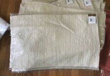 Pottery Barn Honeycomb Lumbar Pillow Cover Ivory 16x26 New