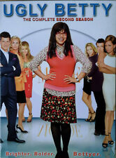 UGLY BETTY - COMPLETE SECOND SEASON - (5) DVD SET - SLIP COVER - 2008