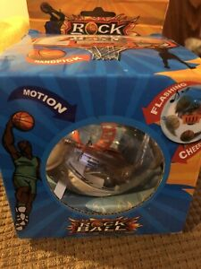 New in Box Rock Ball Handheld Basketball Game With Lights and Motion NIB