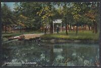 45801) AK Spreewald Werben Gasthaus Zur Eiche Inh. Gustav Roschke ca. 1910