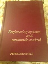 Engineering Systems And Automatic Control Peter Dransfield Book Vintage 1968