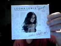 SPIRIT CD  / DVD SET LEONA LEWIS DELUXE POP BIRTHDAY CHRISTMAS  FREE UK POST