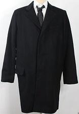Ralph Lauren Denim Supply Coat Jacket Mens Large Black Wool New $298