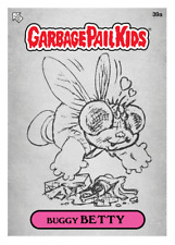 WAX.io / Topps DIGITAL ONLY Garbage Pail Kids BUGGY BETTY 39a SKETCH Card
