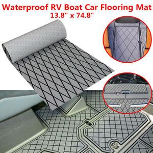 1PC Outdoor Waterproof EVA Foam Boat Car Floor Mat Teak Carpet RV Yacht Deck Pad